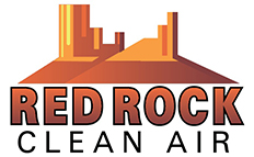 Red Rock clean air logo